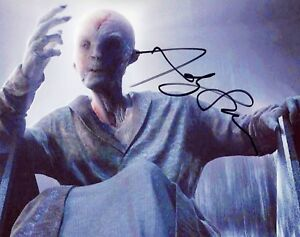 ANDY-SERKIS-Auth-Hand-Signed-034-STAR-WARS-EP-7-Supreme-Leader-Snoke-034-8x10-Photo