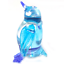 Penguin #2 hand blown clear glass miniature figurin crystal dollhouse animal