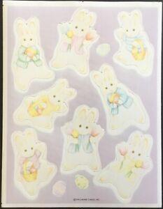 Easter Vintage Stickers Hallmark Mint Condition!!