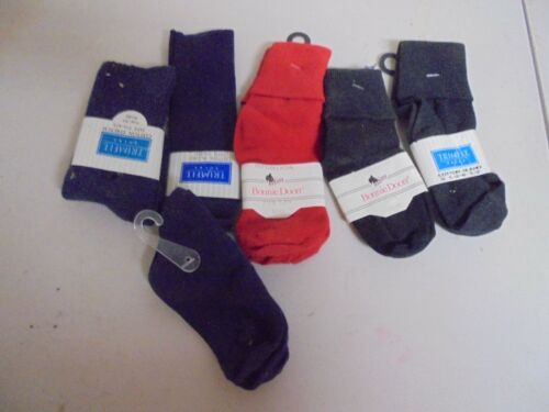 Vintage Boys Lot of 5 Assorted Styles and Colors 5-6 Socks (7)