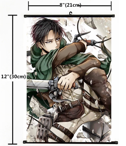 HOT-Anime-Attack-on-Titan-Wall-Poster-Scroll-Home-Decor-Cosplay-1460
