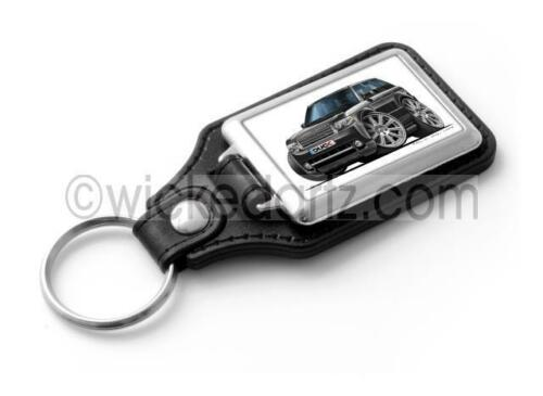 WickedKarz Cartoon Car Range Rover Vogue//Sport in Black Stylish Key Ring