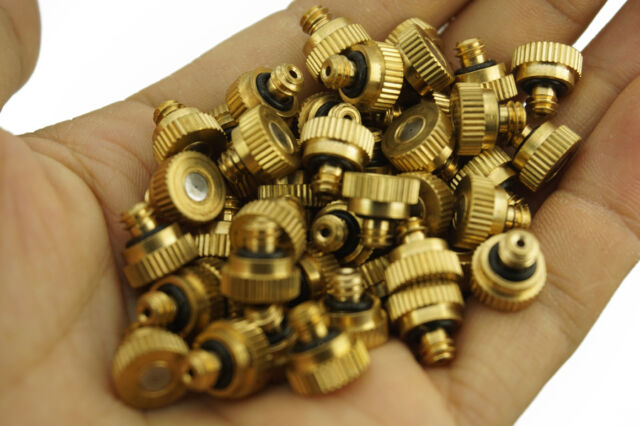 Brass Misting Nozzles Water Misting for Cooling Humidification Irrigation System