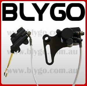 Hydraulic-Rear-Disc-Brake-Caliper-System-Pad-110-125cc-140cc-PIT-PRO-Dirt-Bike