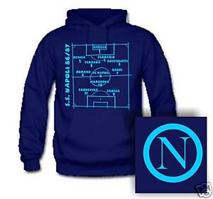 felpa Napoli nazionali