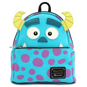 0216b18cf6 Loungefly Disney Monsters Inc Sully Face Faux Leather Mini Backpack ...