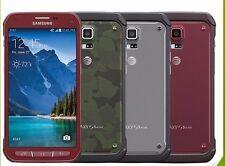 Samsung Galaxy S5 Active SM-G870A - 16GB - Camo Green - Gray - Red. PLS SEE
