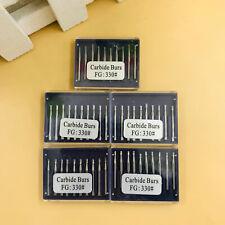 Dental Carbide Burs Fg 330 Pear For High Speed Handpiece 50pcs