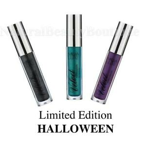 MUA-LUXE-MAKEUP-Velvet-MATTE-Metallic-LIP-LACQUER-LIQUID-GLOSS-Halloween-Goth