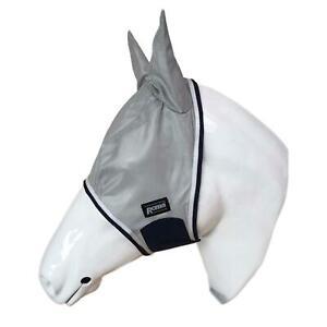 Roma équitation Champ Anti Mouche Protection Léger Doux Mesh Oreille Masque-afficher Le Titre D'origine