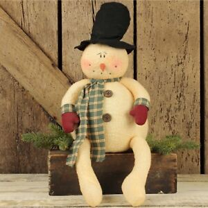 Chubby-Frosty-Snowman-with-Dangle-Legs-Christmas-Winter-Decoration-Honey-And-Me