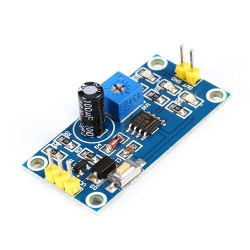 """MODULO TEMPORIZZATO NE555 5-12VDC RITARDO 0"""" A 150"""" SCAMBIO 250VAC 30VDC 10A PCE"""