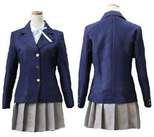 K-on Hirasawa Yui Uniform Cosplay Costume Cosplay FANCY Free shipping