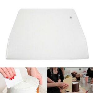 Pastry-Dough-Scraper-Cutter-Baking-Cake-Smoother-Plastic-Kitchen-Tool-Decorating