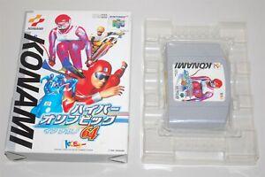 Hyper Olympic in Nagano japan Nintendo 64 N64 Game