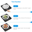 Criacr-Digital-Kitchen-Scale-11lb-5000g-Electronic-Cooking-Food-Scale-Weighing thumbnail 5