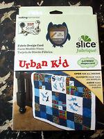 Making Mem Slice Fabrique Design Card Urban Kid