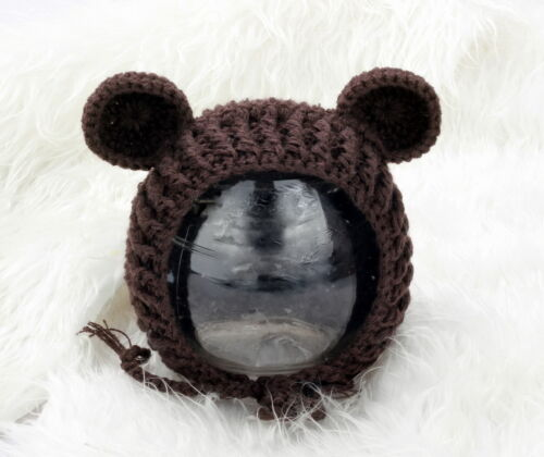 Baby mouse crochet knit hat  Beanie photo prop