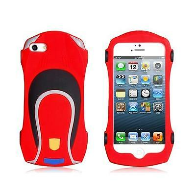 Kids iPhone 5 Silicon Sports Car Protective Case
