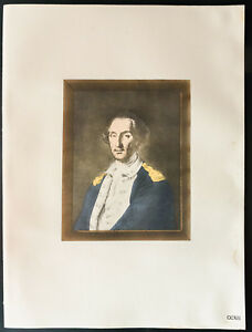 1926-Litografia-Retrato-de-Washington-Retrato-of-George-Washington