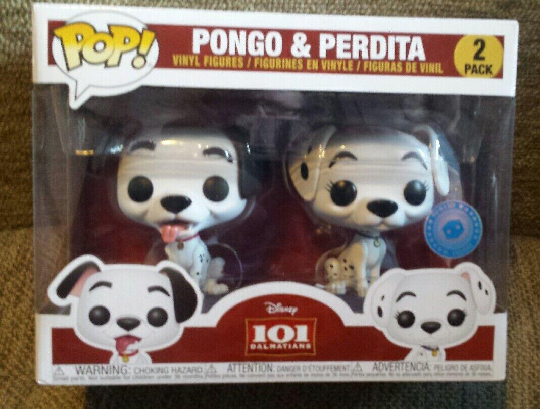 Perdita and Pongo pop vinyl new new new a8f7f4