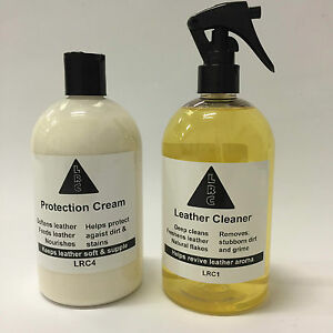 Leather Protection Conditioner amp Leather Cleaner 250ml for cars sofas jackets - <span itemprop='availableAtOrFrom'>Hull, United Kingdom</span> - All original packaging must be kept or claims will not be valid, as the post office require to view all original packaging of any damaged parcel. You must email or telephone us with 24 hours - Hull, United Kingdom