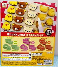 San-X Rilakkuma Cookie Mold 9pcs - Koro Koro Gashapon             h#9