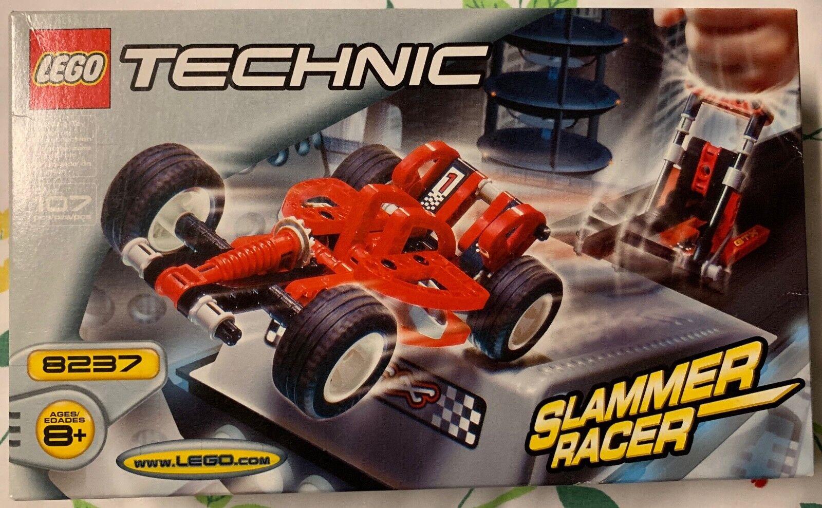LEGO TECHNIC Slammer Racer (8237) NEW, SEALED, RETIrot