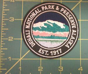 Embroidered-Alaska-Patch-Denali-National-Park-est-1917-Iron-on-New-patch