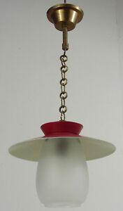 Petite Lampe Lanterne Suspension Champignon Vintage 1960 Ebay