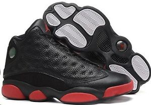 newest f66be ef4b8 Details about MENS AIR JORDAN RETRO 13 BLACK RED BRAND NEW SZ 11 DS