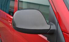CARBON FIBRE WING MIRROR TRIM SET COVERS CAPS- VW VOLKSWAGEN T5 TRANSPORTER 10+