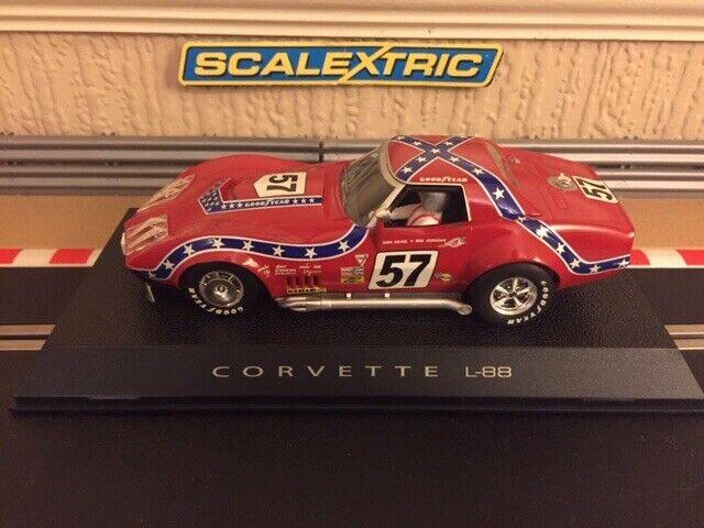 Scalextric Chevrolet Corvette 1972 No57 L-88 C2502 Rare Car Brand New Boxed