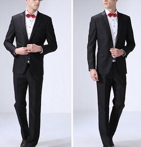 Caricamento dell immagine in corso Elegante-abito -vestito-completo-uomo-scuro-giacca-pantalone- 0d59623c520