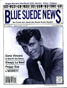 Image Is Loading Blue Suede News 38 Gene Vincent Buddy Holly