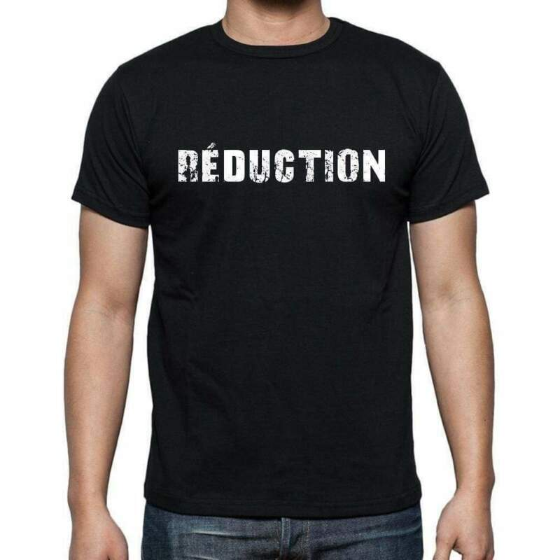 Réduction, French Dictionary, Men's Short Sleeve Round Neck T-shirt 00009 Cheap Sales