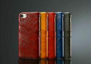 Cover-for-Apple-IPHONE-7-4-7-Inch-Leather-Style-Card-Slot-Bumper-Protective