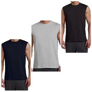 378b43004932d5 Image is loading Russell-Athletic-Men-Sleeveless-Muscle-Tshirt-Tee-Top-