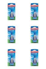 HENKEL 234790 Loctite Super Glue Gel Control  (6 Pack)