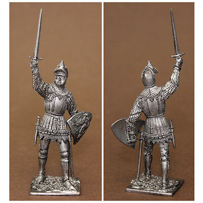 Französischer Ritter, French knight, Hundred Years' War, 54mm