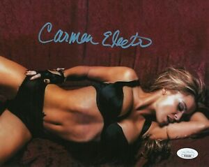 Carmen-Electra-Autograph-Signed-8x10-Photo-Baywatch-JSA-COA