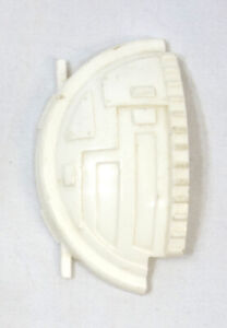 Vintage Star Wars Left Cockpit Cover Hatch Door Canopy Part White TIE Fighter