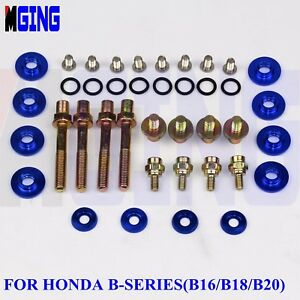 Engine-Fender-Washer-Screw-Valve-Cover-Bolts-Honda-B-Series-B16-B18-B20-Rsx-Bl