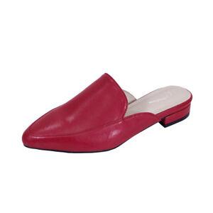 6b9a455006ae0 PEERAGE Maggie Women Wide Width Low Heel Pointed Toe Leather Dress ...