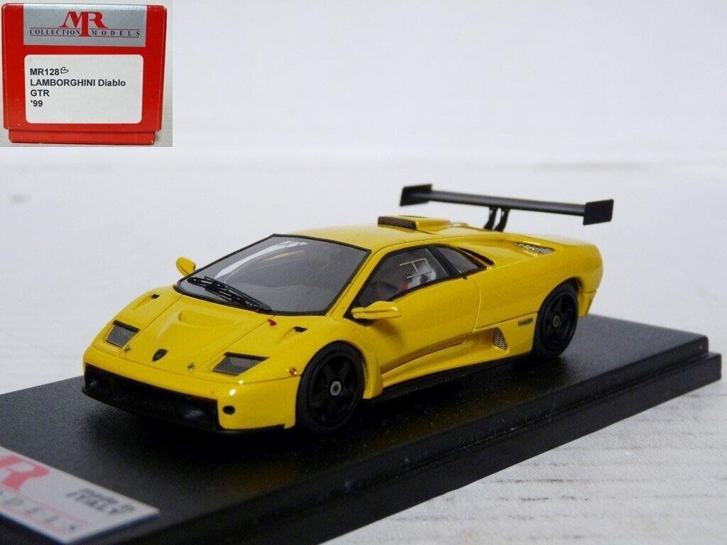 MR Models MR128B 1/43 1999 Lamborghini Diablo GTR Handmade Resin Model Car