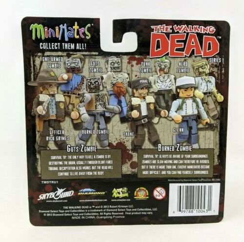 Nouveau Minimates The Walking Dead Guts et brûlé Zombie Walker Figure FP20