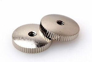 Domed Thumbwheels Nickel plated fits Gibson ES/SG with Bigsby/Maestro Vibrola - Harsum, Deutschland - Domed Thumbwheels Nickel plated fits Gibson ES/SG with Bigsby/Maestro Vibrola - Harsum, Deutschland