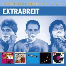 EXTRABREIT - 5 ORIGINAL ALBUMS 5 CD NEU