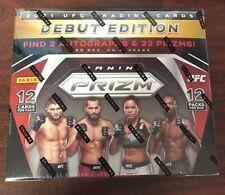 2021 PANINI UFC HOBBY BOX DEBUT EDITION MIXED MARTIAL ARTS SEALED NEW *HOT