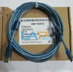 1PC-New-WEINVIEW-USB-TK6070-Cables